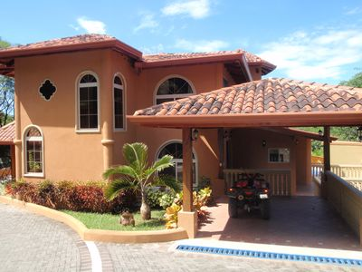 Photo for Luxury Home with Beautiful Mountain Views and Short Walk to Secluded Beaches