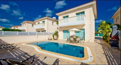 Photo for Protaras Deluxe Villa Dio is based only 200m from the beautiful resort of Protaras, on the south eas