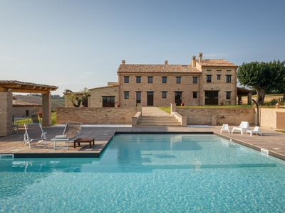 Photo for Villa Valeria, a charming farmhouse, with private pool