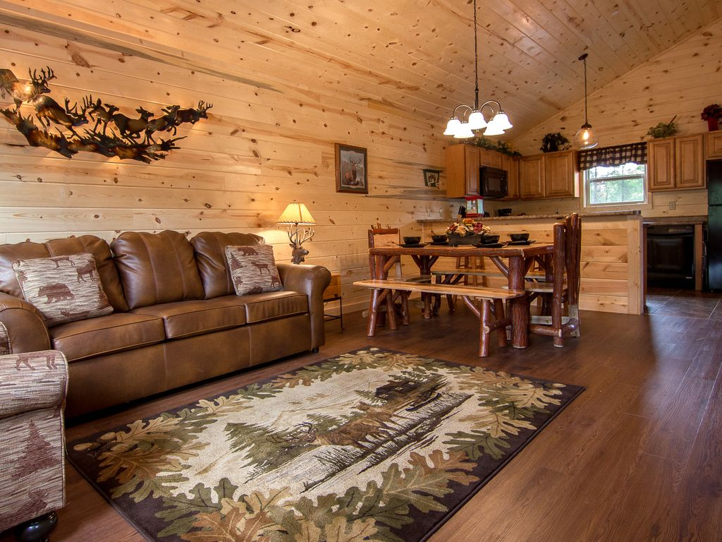 Baita per 6 persone nel pigeon forge 747907 for Cabine vicino a whiteface mountain