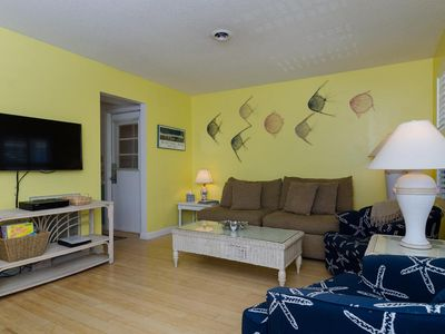 Photo for Attractively decorated oceanside townhome with covered porches