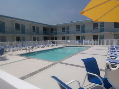 Photo for Cozy Beach Condo in the beautiful resort town of Wildwood Crest in New Jersey