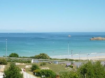 Photo for T3 triplex, 2 separate bedrooms, garden and panoramic sea view