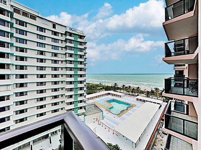 Photo for New Listing! Upscale Beachfront Resort Condo at The Alexander w/ 2 Pools