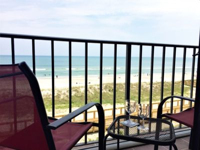 Photo for OCEANFRONT PREMIER CORNER END UNIT CONDO