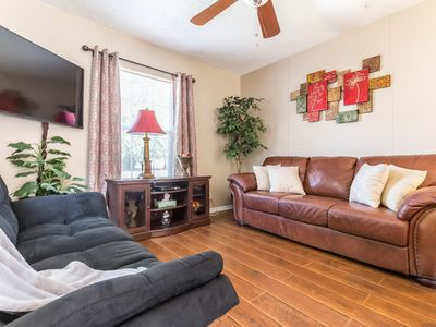 Photo for Cute 2 Bedroom within walking Distance to the AT&T Stadium (One Block)!!