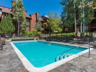 Photo for Spacious Summer Mountain Condo w/Private Balcony & Onsite Heated Pool!