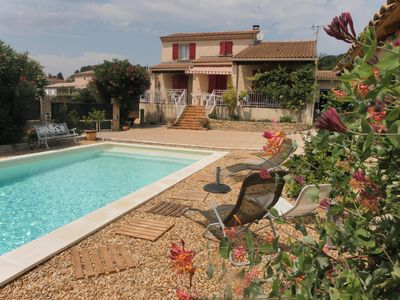 Photo for HOUSE OF 120 M2 HAS FLOOR, CLOSED WITH SWIMMING POOL AND TERRACE