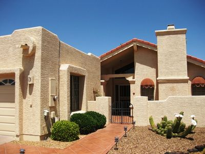 Photo for Beautiful Sun Lakes Golf-Course Home in Gated Palo Verde