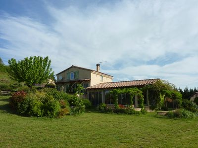 Photo for Detached house near Barjac for 13 people with swimming pool.