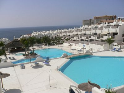 Photo for Beautiful apartment in a fantastic complex near the sea, with 4 pools,bar,Wifi