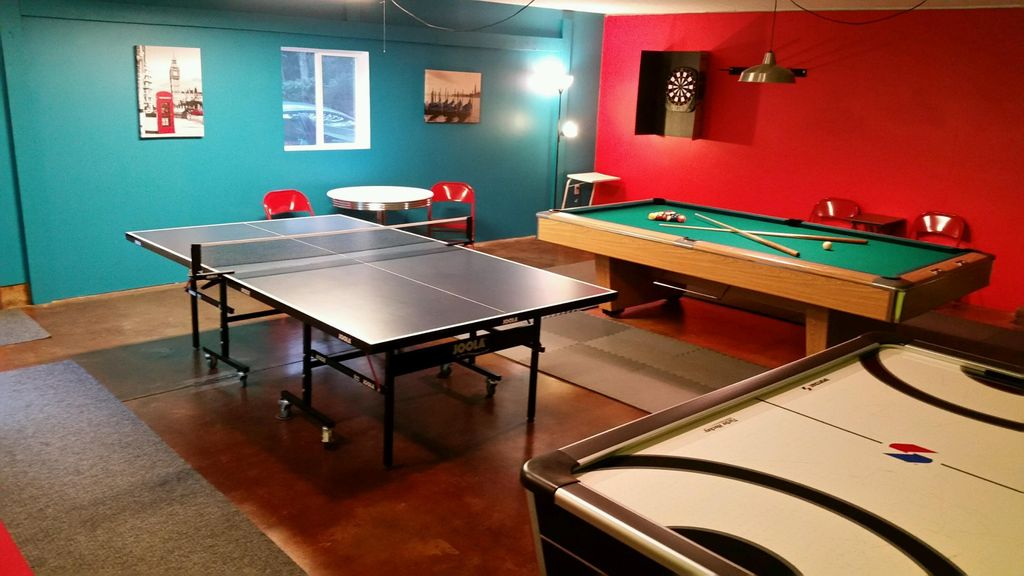 How much room for a pool table home design ideas and - How much space for a ping pong table ...