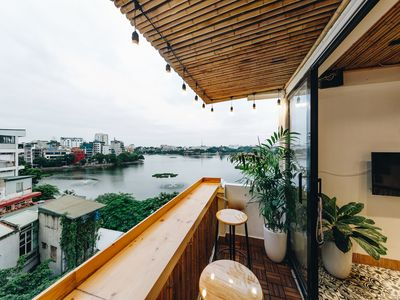 Photo for The Autumn Homestay-LAKE VIEW room, with balcony, next to the WEST LAKE