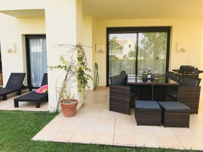 Photo for **Ground floor 2 bed 2 bath apartment at 5* Roda Golf Resort, freeWIFI **