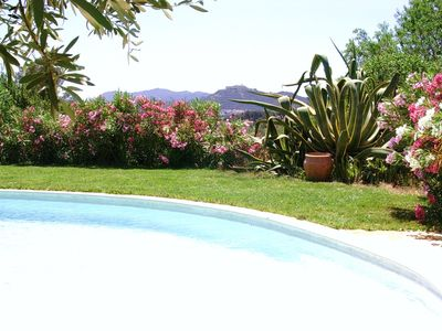 Photo for In Ollioules, near Sanary, charming Provencal house with swimming pool