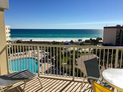 Photo for SPRING OPEN! AMAZING OCEAN VIEW- FREE BEACH SERVICE-TOP FLOOR-LAZY RIVER