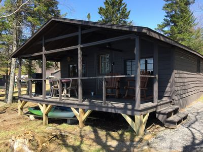 Photo for Waterfront Cabin with Direct Trail Access!