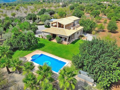 Photo for Ca's Mestre  rustic villa with panoramic mountain views 058