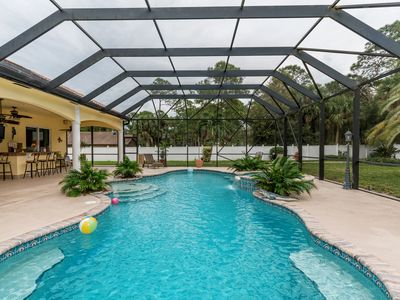 Photo for Hurricane safe home!!! Heated Private Pool and Spa!! Sleep 15 and Fido too!!!!
