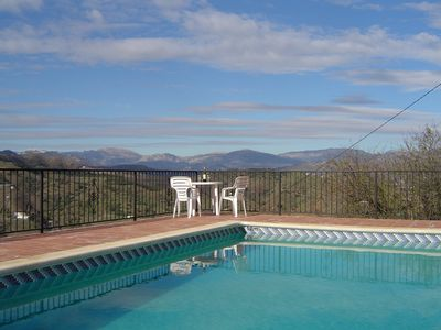 Photo for Charming Rural Finca, Pool, Aircon, Walk 2 Village & Restaurants, Stunning Views