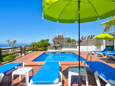 Photo for Villa El Pino, Hilltop Villa with Pool and amazing View