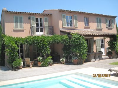 Beautiful villa 5 min from St. Tropez center and beaches of Pampelonne