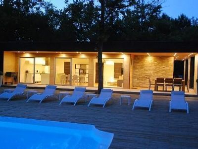 Photo for Heated swimming pools, sauna, gym, bicycles, a table tennis, quiet and high comf