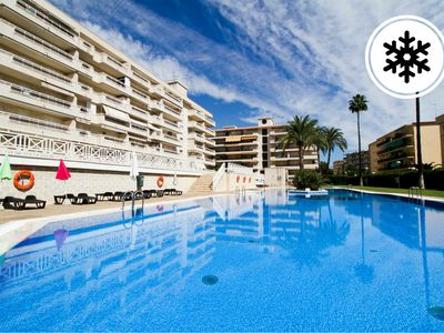 Photo for Apartment with beautiful pool 100 meters from the beach - Turismar