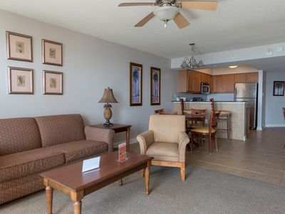 Photo for Malibu Pointe - 1102 Spacious 1 bedroom, oceanview condo!