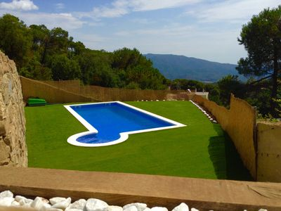 Photo for New villa with private pool in 5 min. beaches, superb sea view