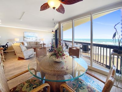 Photo for Sandpiper  #708: Beachfront 2 Bedroom 2 Bathroom With Spectacular Views and 24 Hour Management