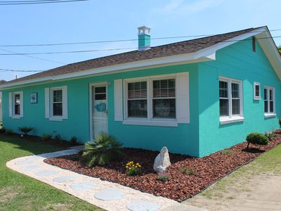 Photo for 3 BR /2 BATH COTTAGE-WALK TO BEACH, PIER, FISHING, RESTAURANT, SHOPPING & MORE