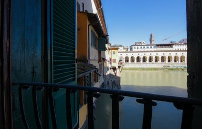 Photo for Ponte Vecchio Museum, apartment directly attached to Ponte Vecchio with a breathtaking view