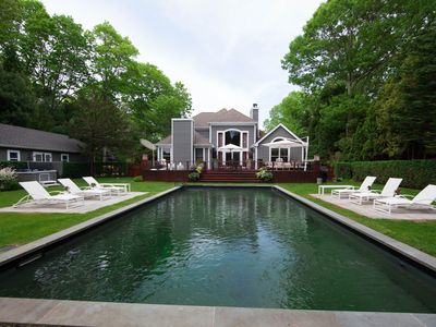 Photo for Beautiful 4 Bedroom Summer Home In The Heart of the Hamptons with Pool