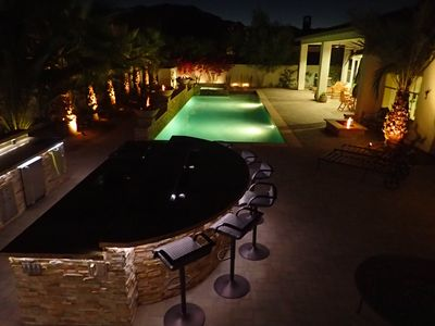 Photo for Griffin Ranch: Ultra Luxurious, Private Pool, Mature Palmtrees and Mountain View