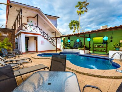Photo for 14 BR Jaco Oasis - BEST LOCATION- Walk to Everything -party friendly -WOW