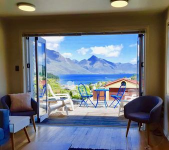 Photo for Ultimate Queenstown Holiday House. Mountain and Lake views
