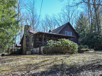 Photo for Classic Log Home with Modern Amenities & Close to the Lake