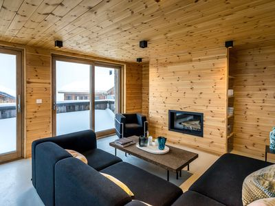 Photo for In the heart of the 3 valleys, Chalet 3 designer apartment, 5 gold snowflakes.