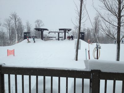 Photo for On the Slopes - Closet Condo to Ski Lift at the Resort! Ski Discounts Available