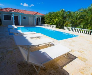 Photo for 5 Bedroom Villa with Private Pool Close to Beach. Great Service. Sosua Santo D.