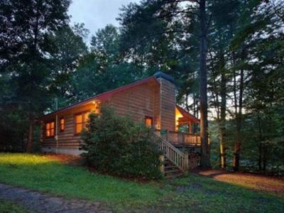 Photo for Crystal Lake is nestled on the wooded shoreline of Lake Whitepath and  is perfect for small families