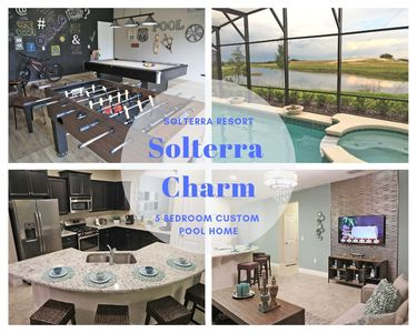 Photo for Solterra Resort Stunning Lake View Pool Home With Games Room