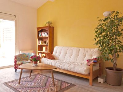 Photo for Cottage full nature with swimming pool, countryside Aixoise