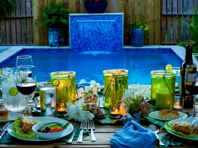 Photo for POOL PARADISE, NEAR BEACH, Amazing outdoor living spaces.