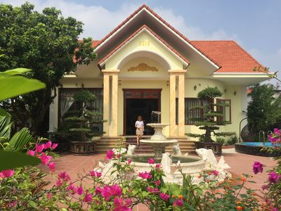Photo for Tuan Anh Home - Homestay at Countryside Riverside Garden Villa