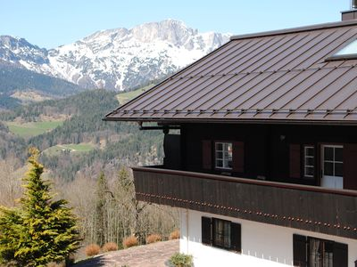 Photo for Fantastic mountain panorama at Obersalzberg - Berghanghäus`l with balcony