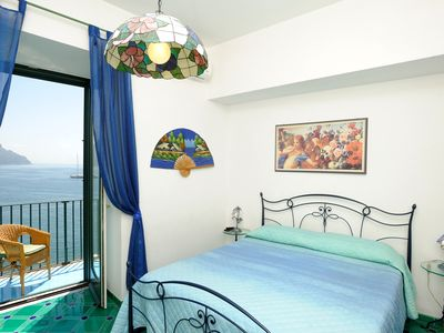 Photo for Apartment located in the centre of Atrani with a nice balcony on the sea