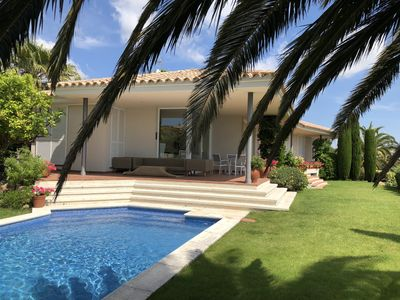 Photo for Spectacular house in Platja d´Aro with stunning sea view