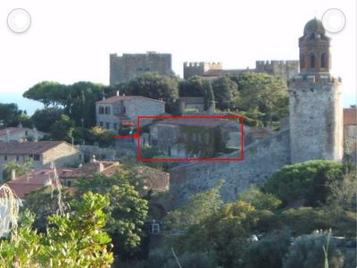 Photo for Studio in the medieval village of Castiglione della Pescaia